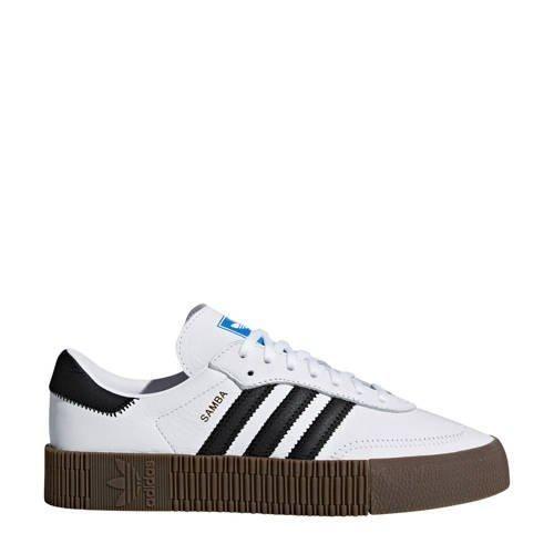 originals SAMBAROSE sneakers wit/zwart | Zwart, Adidas ...