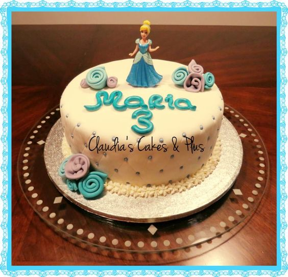 Princess Cinderella Cake!