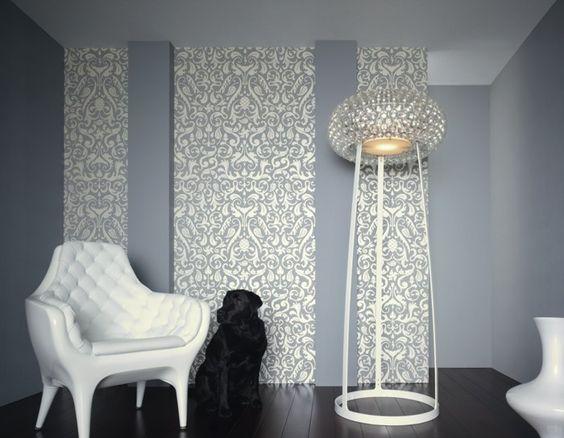 Designertapeten / Lars Contzen II / Raumbilder / Ba Rock - Supertapete