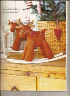 Felt reindeer and other felt patterns