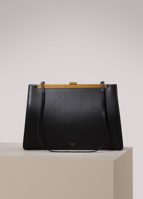 CélineClasp medium bag