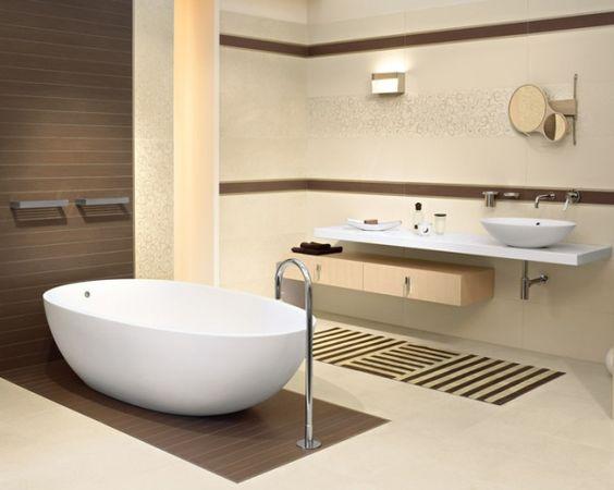 Modelo de cuarto de ba o peque o moderno buscar con - Modelos de cuarto de bano ...