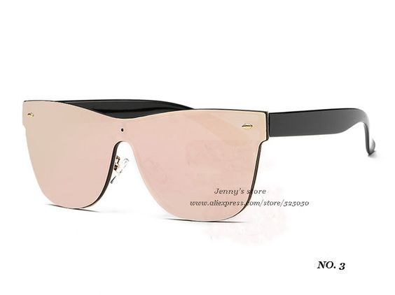 Brand Sunglasses Women Vintage glasses Summer Style Flat Panel Lens sun glasses oculos de sol feminino gafas de sol UV 400