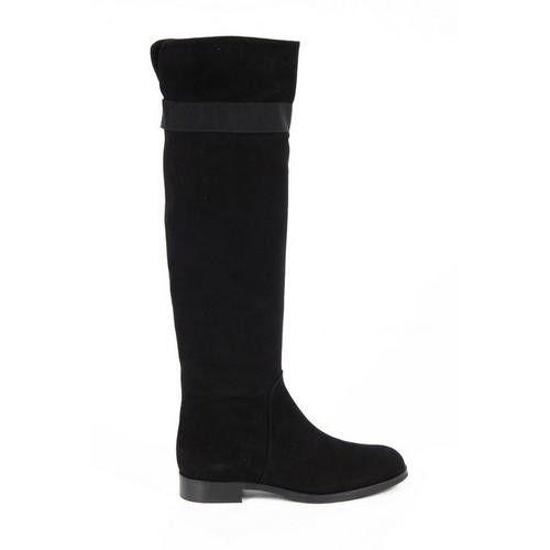Versace 19.69 Abbigliamento Sportivo Milano ladies boots J05 CAMOSCIO NERO