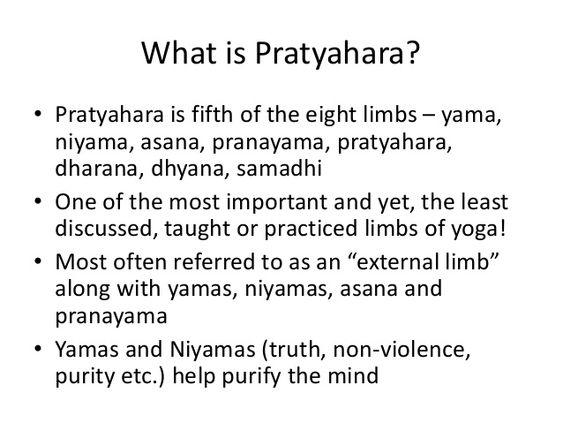 Pratyahara (Sense Withdrawal) in Yoga Sutras of Patanjali