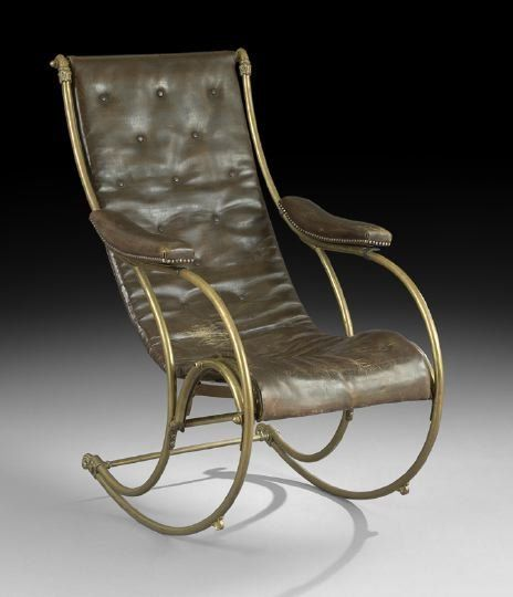 c1870 Rococo rocker, rgstrd 1855-RW Winfield & Co, Birmingham, England (shown at 1851 Crystal Palace Exh, London/early models prob strap steel), ptd 1867-Berg & Hoffman, USA, 42t, 12-1,5.