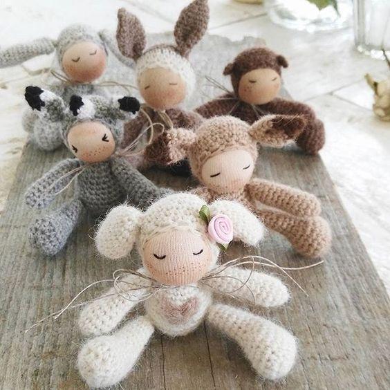 Lämmchen, Bambi, grauer Fuchs , Esel , Bär und Hase alles meins💞💞💞 #erdbeerdiamant #zuckerseelchen #dankeschön