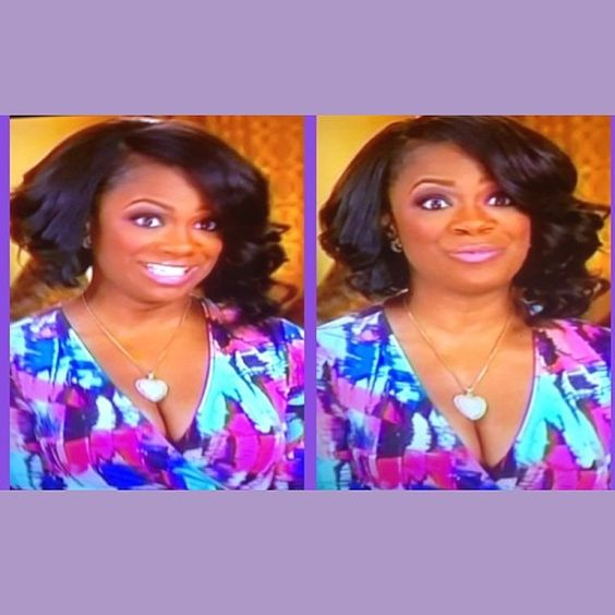 Superb Kandi Burruss Curly Bob Is The Bomb Com The All Natural Diva Short Hairstyles Gunalazisus