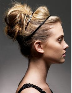 Cool Updo Cute Updo And Love This On Pinterest Hairstyles For Women Draintrainus