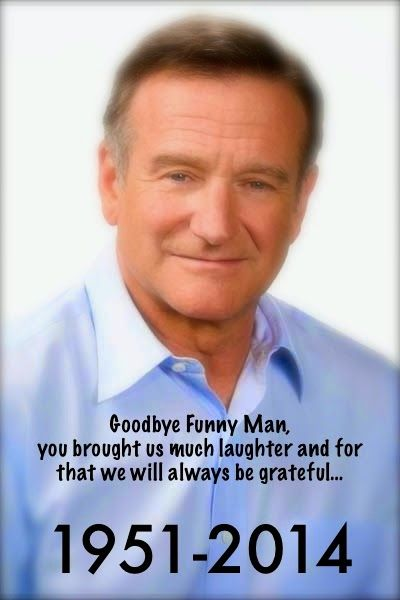 ROBIN WILLIAMS:  You always wished me and my family well at the holidays.  God Bless you for taking your time.  We will always be grateful.  Debbie Dinneen and Family.