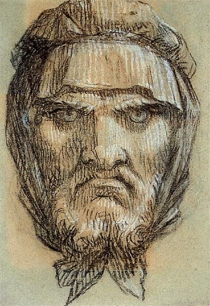 Jefe de Pluto, dios de la riqueza - Pierre-Paul Prud'hon. Romanticismo
