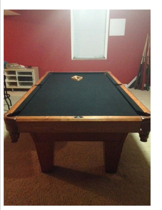 Regulation size pool table....call if interested.