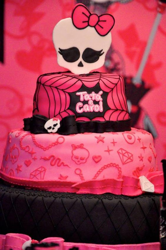 Monster High Themed Party with FULL of Really AWESOME Ideas via Kara's Party Ideas | KarasPartyIdeas.com #TweenParty #Halloween #Party #Idea...