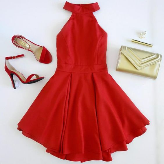 Holiday Red Dress: