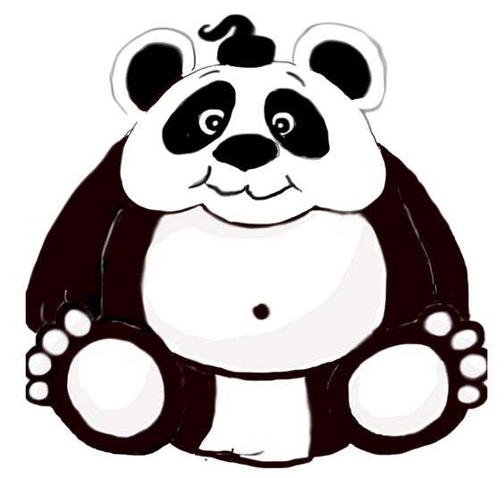 The Little Sumo Panda - Designed for an EA Game Project