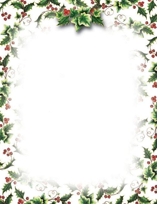free printable christmas stationery   Bing images | Lettre de noel
