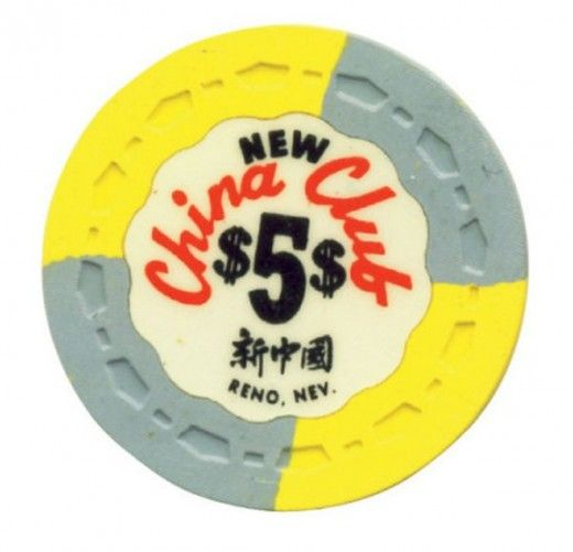 Be still my heart - a collection of vintage casino chips.