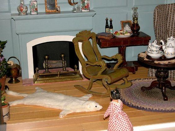 Tasha tudor 39 s dollhouse the 15 foot long dollhouse you for Williamsburg craft house catalog