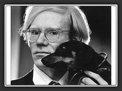 Andy Warhol...it seems all of the artists loved dachshunds.
