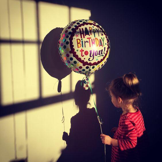 Birthday shadow