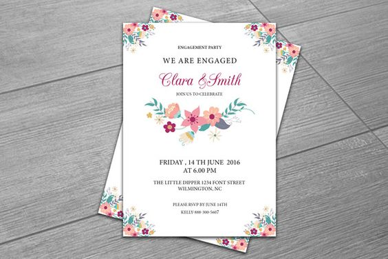 Engagement party invitation template creativework247 templates engagement party invitation template creativework247 templates templates printable templates design pinterest party invitation templates stopboris Image collections