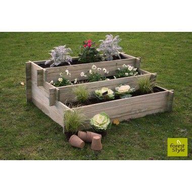 carr potager escalier petit mod le jardiland jardinage ext rieur pinterest d coration. Black Bedroom Furniture Sets. Home Design Ideas