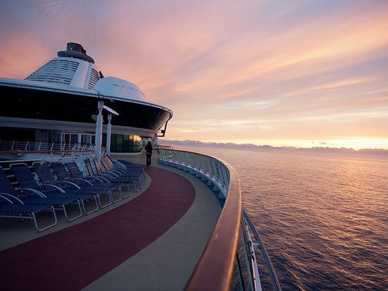 Why we travel. #caribbean #sunset #cruise