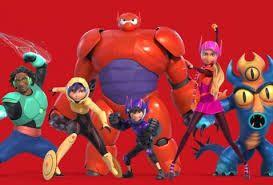 Resultado de imagen para personajes de grandes heroes