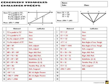 Worksheets Two Column Proof Worksheet congruent triangles proofs two column proof practice and quiz quiz