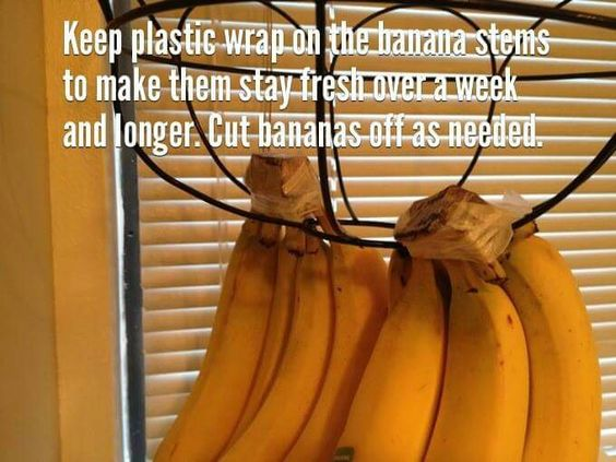 Keep bananas fresh longer!