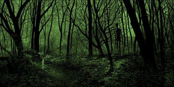 amazing creation of that eerie light.   Daniel Danger  http://www.tinymediaempire.com