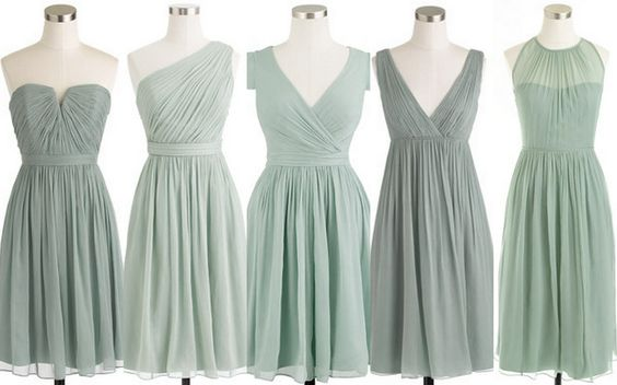 Style Inspiration and Design Grayed Jade Bridesmaid Dress Inspiration www.styleinspirationanddesign.com www.lisasammonsevents.com
