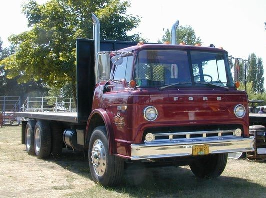 Ford C900 C O E Tray Body Truck U S A Ford Trucks Trucks Ford Classic Cars