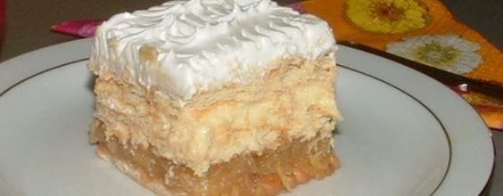 Domaći kuhar - Deserti i slana jela: Stari recept za kolač sa jabukama i keksom