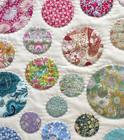 wonderful purl soho tutorial on making applique circles.