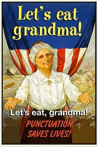 Let's Eat Grandma! Punctuation Saves Lives