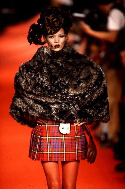Kate Moss, Vivienne Westwood A/W93