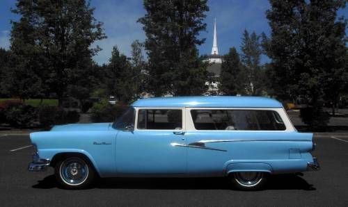 Ford sport station wagon and for sale on pinterest for 1956 ford wagon 2 door