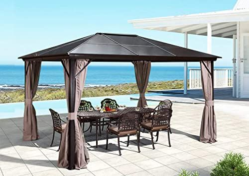 Member S Mark Salemo Hardtop Gazebo 10 X 12 Hardtop Gazebo Backyard Gazebo Outdoor Gazebos