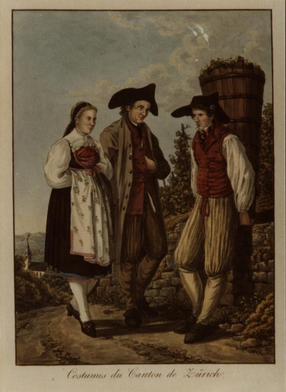 Möbelgeschäfte Zürich Und Umgebung ~ Joseph Reinhard Trachten Zürich, Niederweningen und Umgebung, 1808