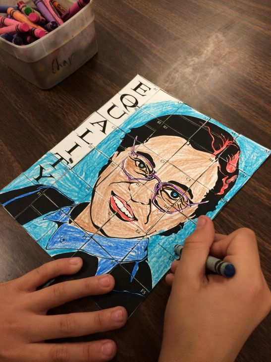 Pop Art Rosa Parks Black History Month Crafts Kids Art Projects Black History Activities