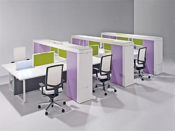 multiple office workstation land3 land3 collection by sacea design egidio panzera u0026 interiores pinterest office