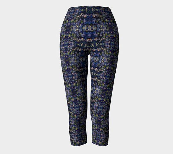 Leggings & Capris Equilibrium Design by GayaArtDesigns on #Etsy #signature #unique #art #designs #exclusive #original #artistic #creation #fashion #accessories #designer #clothing #collection #blue #capris #leggings