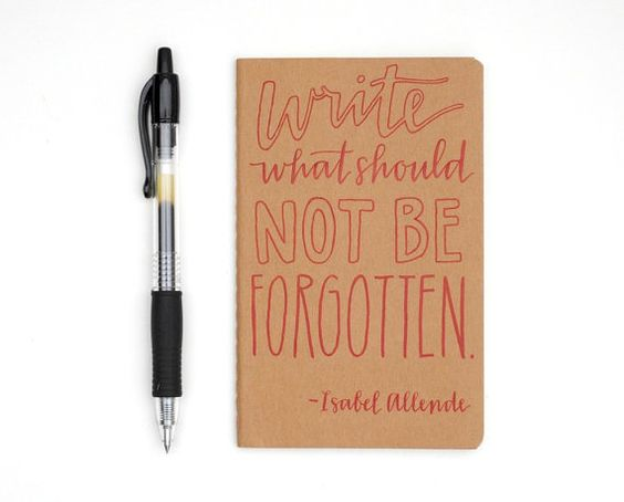 Gorgeous!!  Thought it might be a cute idea for my guests to help me write a never-ending story.  Each time a guest stays over, they can add a sentence or paragraph to the previous guest's story! - Pocket Moleskine  HandLettered Calligraphy  by SparrowNestScript, $20.00