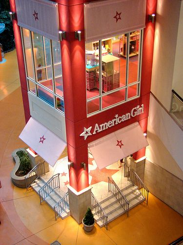 Visiting The American Girl Store at The Mall of America
