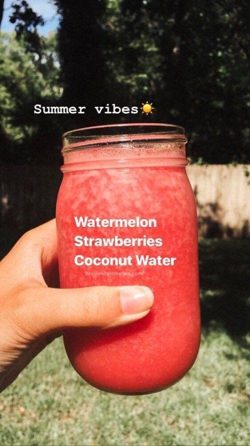25 Fantastic Healthy Smoothies of Instagram - Easy - Recipes Destination