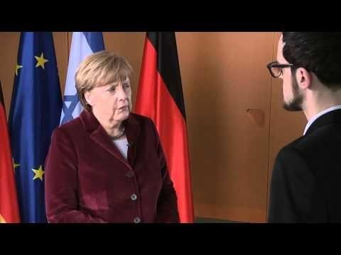Deutsche Kanzlerin Merkel  Mit Israel gemeinsam in die Zukunft schauen