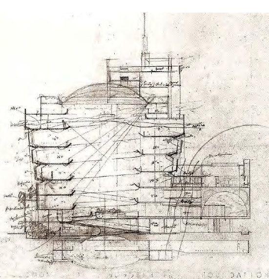 Guggenheim Museum Drawing
