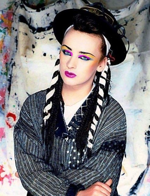 Awsome Pretty Boy George Super Makeup Boy George Pretty