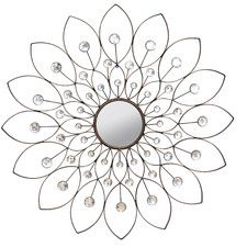 Flora Mirrored Wall Decor